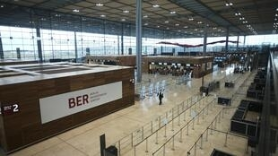 Le nouvel aéroport de Berlin-Brandebourg Willy Brandt (image d'illustration).