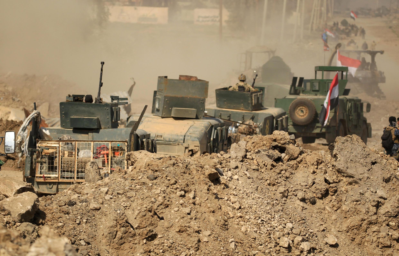 Cidade de Mossul, no Iraque, foi devastada pelos conflitos