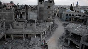 Pour l'armée israélienne, l'opération de cet été contre Gaza avait un objectif : détruire les positions du Hamas et de sa branche armée.
