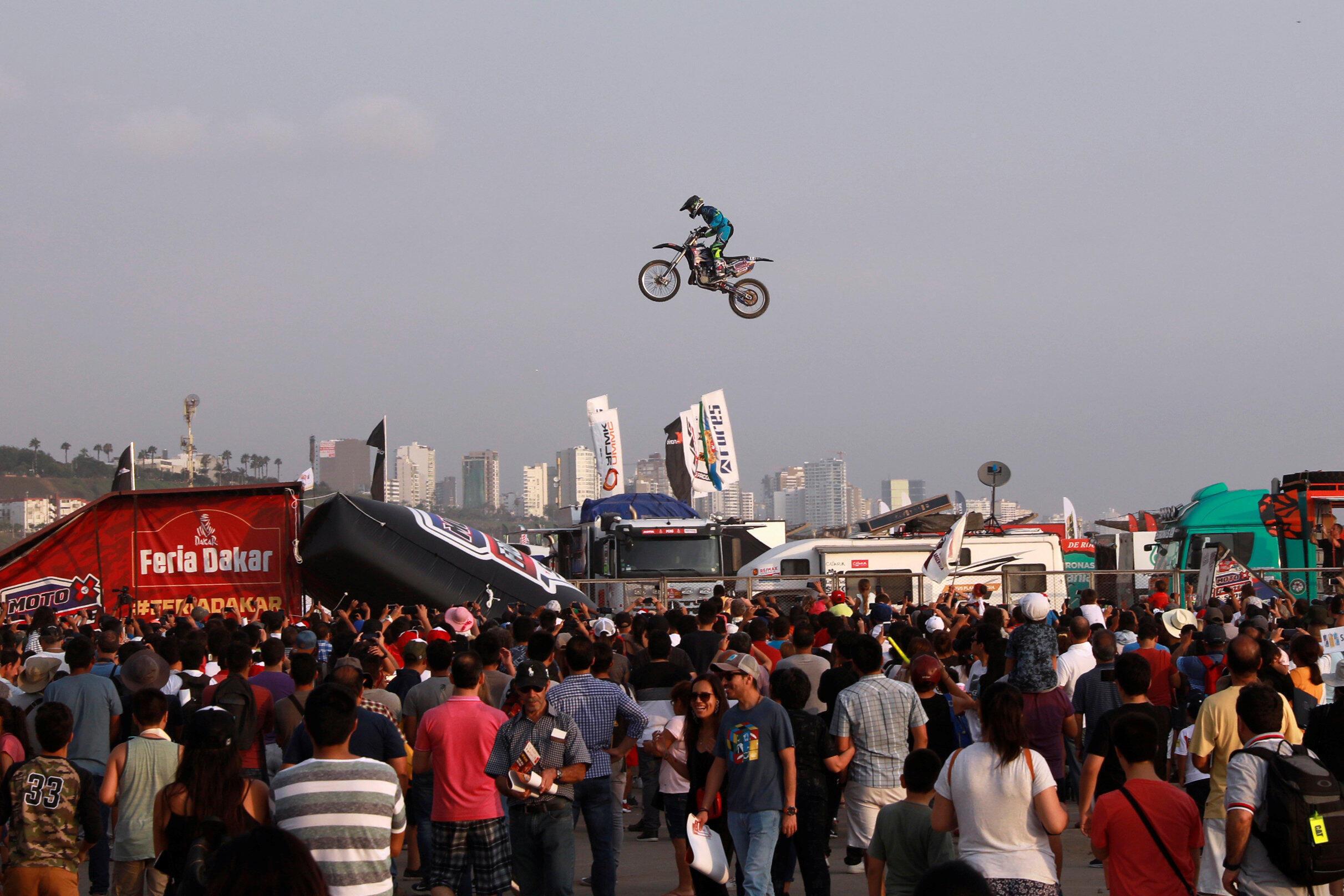Imagen que deja el Dakar en su edicion 100% peruana, el 4 de Enero 2019.