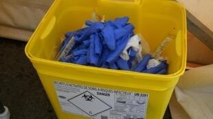Les déchets hospitaliers, avec le déconfinement, vont être de plus en plus nombreux (photo d'illustration).