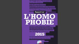 Capa do 19° relatório anual da associação SOS Homofobia.