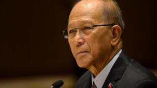 菲律賓國防部長洛倫紮納(Delfin Lorenzana)資料照片