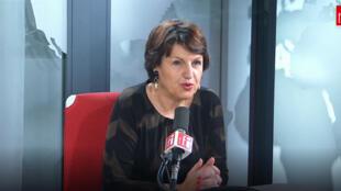 Annie Genevard, députée LR du Doubs et vice-présidente de l'Assemblée nationale sur RFI.
