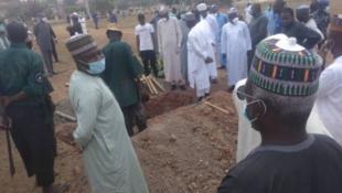 Kabarin Abba Kyari da ke makabartar Gudu a birnin Abuja.