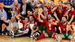 Portugal sagrou-se Campeão do Mundo de hóquei em patins.
