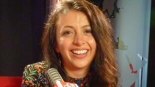 La cantante colombiana Andreïa en RFI