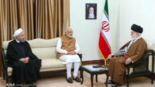 دیدار نخست وزیر هند با سران جمهوری اسلامی در سال ٢٠١۶