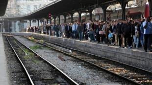 巴黎火车站东站2014年6月16日巴黎