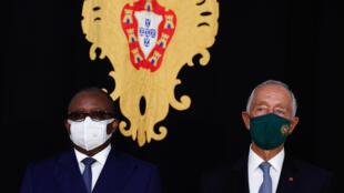 Umaro Sissoco Embaló - Marcelo Rebelo de Sousa - Guiné-Bissau - Portugal - Presidente - Governo - Politica - Palácio de Belém