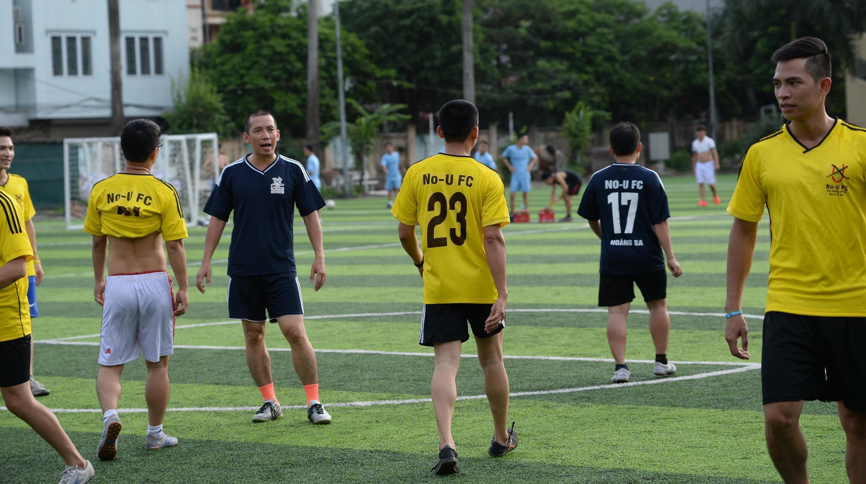 Một buổi chơi bóng của Câu lạc bộ No-U tại Hà Nội. Ảnh chụp ngày 09/07/2017.