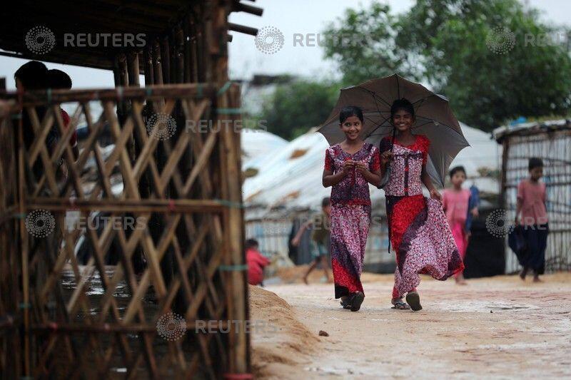 羅興亞難民。