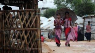 罗兴亚难民。