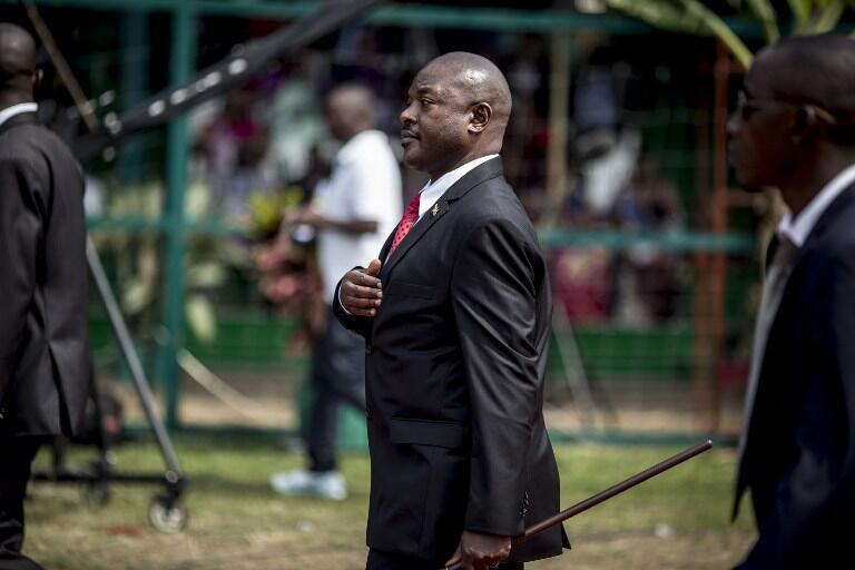 Le président du Burundi, Pierre Nkrurunziza.