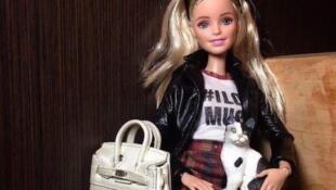 Detalle de la cuenta Barbiefascionista de Instagram.