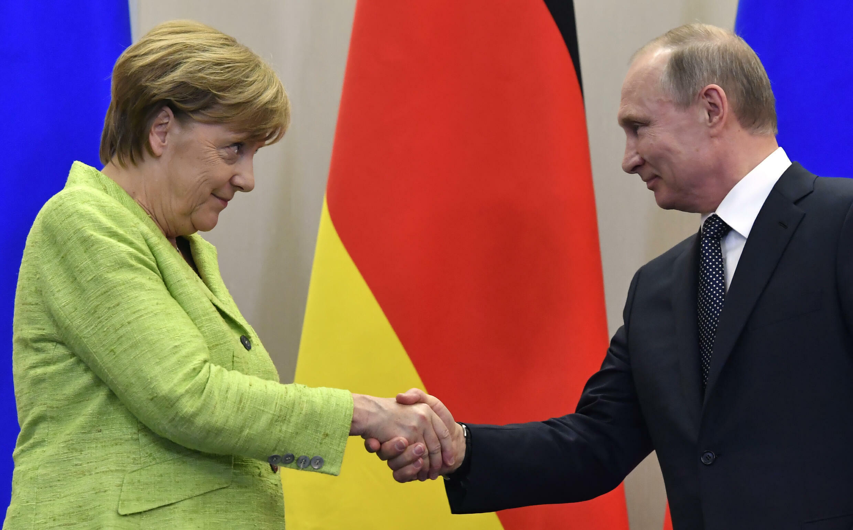Russian President Vladimir Putin and German Chancellor Angela Merkel have rarely seen eye to eye despite 16 years of meetings