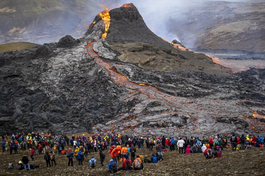 eruption volcan islande Fagradalsfjall