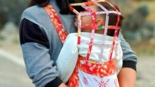 Niño en China.