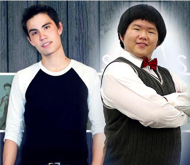 Ca sĩ người Mỹ Sam Tsui và ca sĩ Đài Loan Lin Yu Chun (DR)