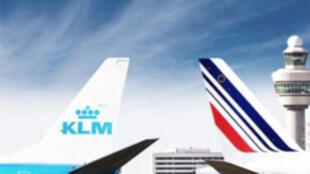 荷蘭皇家航空和法航的摩擦。