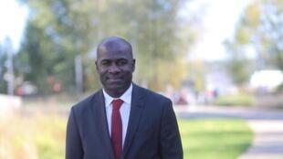 Pierre De Gaëtan Njikam, maire adjoint de la ville de Bordeaux.
