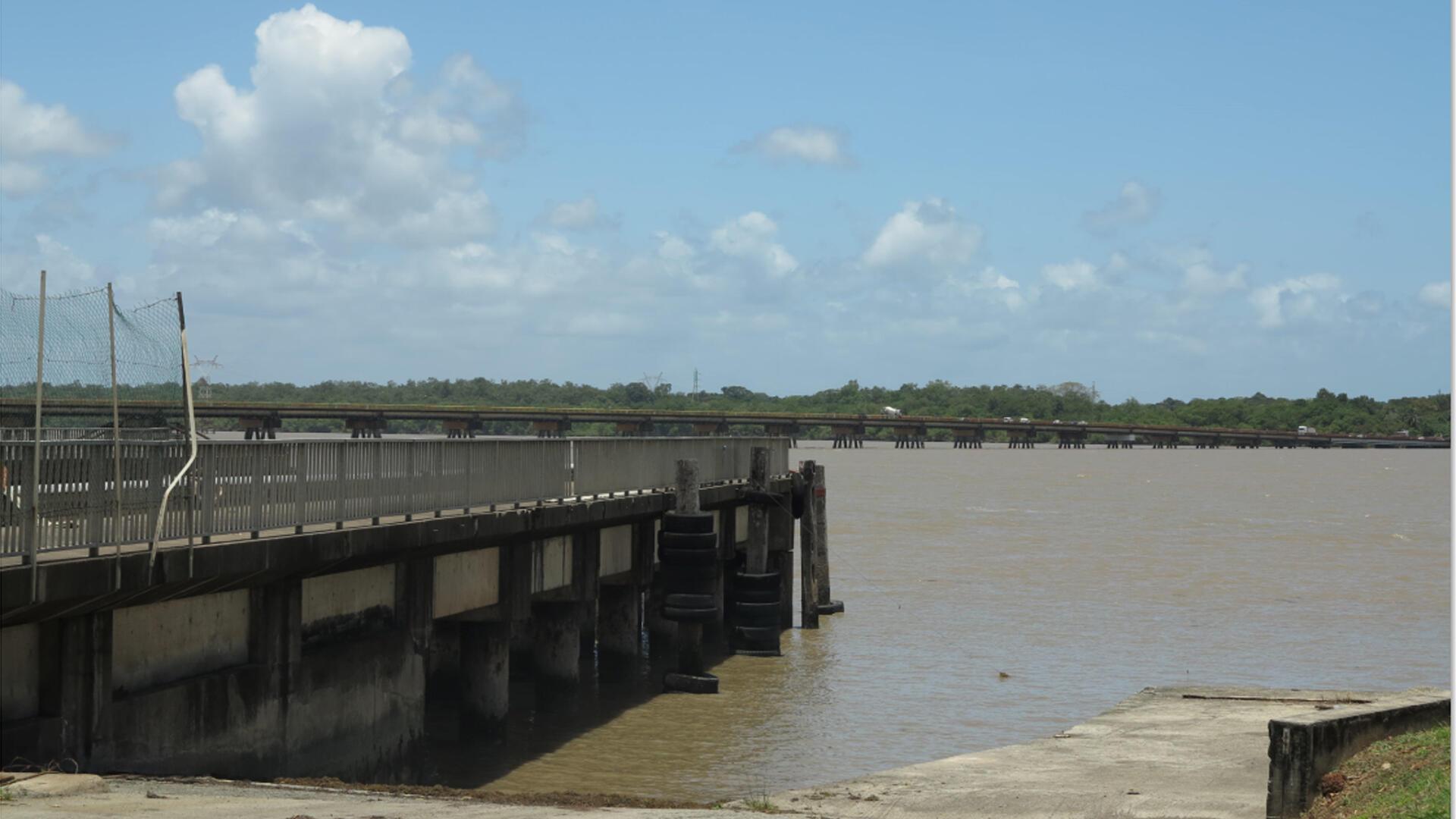Caiena, vista do porto. Imagem ilustrativa.