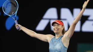 Maria Sharapova won the title in Melbourne in 2008.