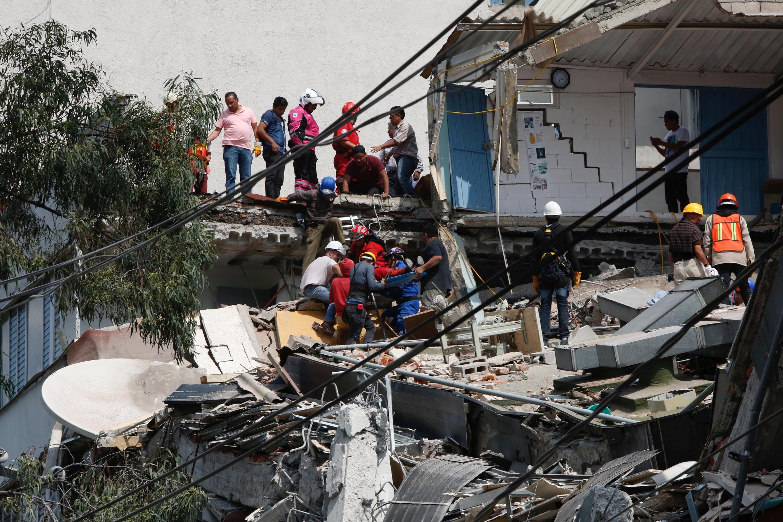 این نخستینبار طی سه دهه اخیر است که مکزیک شاهد وقوع یک زمینلرزه قدرتمند بوده است.