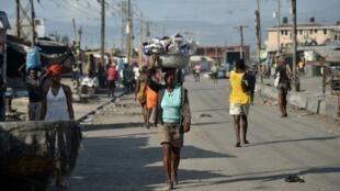 La Saline, au sud de Port-au-Prince (illustration).