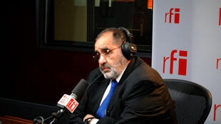 Mansour Saif al-Nasr, représentant en France du Conseil national de transition libyen.