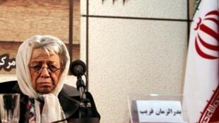 دکتر بدرالزمان قریب تنها بانوی عضو پیوسته فرهنگستان زبان و ادب فارسی بود.