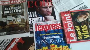 Capas de magazines news franceses de 09 de setembro de 2017