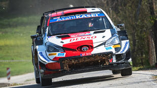 Sebastien Ogier was handed victory on the Croatian tarmac on the last corner after a dramatic day