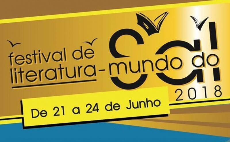 Cartaz do Festival de literatura-mundo que decorreu de 21 a 24 de junho no Sal, Cabo Verde