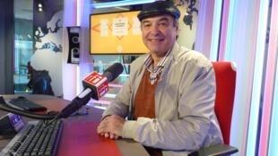 Samuel Cabanchik en los estudios de RFI