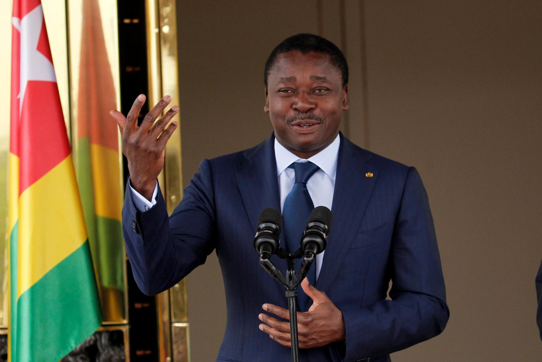 Faure Gnassingbé, ici en Côte d'Ivoire, le 20 novembre 2017.