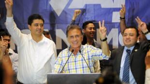 Miguel Ángel Yunes fue electo gobernador de Veracruz por la alianza opositora PAN-PRD.