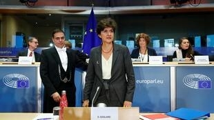 European Internal Market Commissioner-designate Sylvie Goulard of France attends her second hearing before the European Parliament in Brussels, Belgium October 10, 2019.