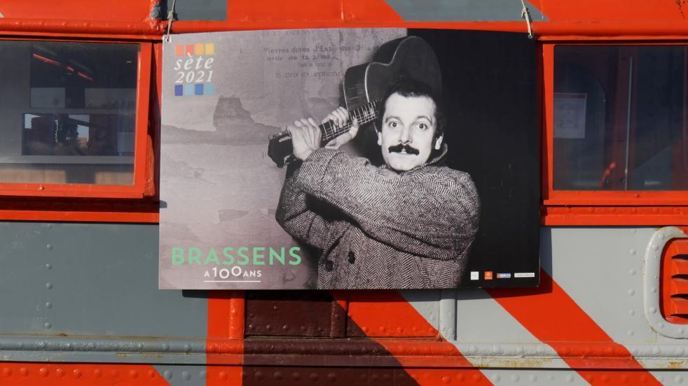 musique - France - Georges Brassens - centenaire à Sète