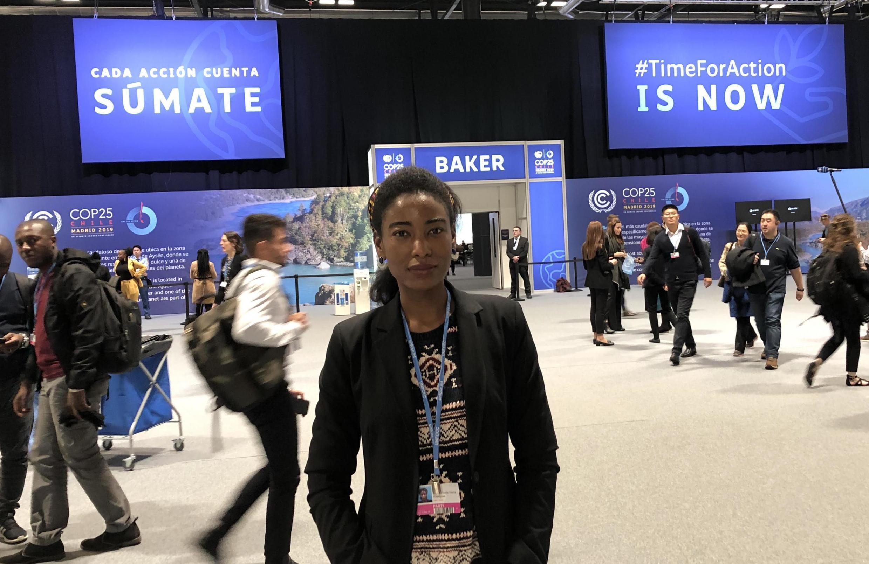 Mónica Rodrigues, promotora e coordenadora geral do Movimento Eco-Feminismo em Madagáscar e Cabo Verde
