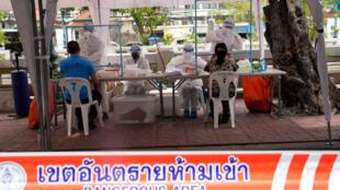 Bangkok - Thailande - covid - santé - test - médecin