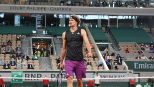 Alex Zverev, who reached the last 16 at the French Open after beating Laslo Djere, was asked about the enduring brilliance of Roger Federer, Rafael Nadal and Novak Djokovic.