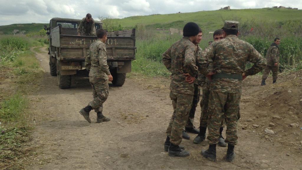 Mapigano kati ya Armenia na Azerbaijan katika eneo la Nagorno-Karabakh, Septemba 28, 2020.