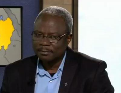 Père Jean-Pierre Ningaina, prêtre tchadien (capture d'écran).