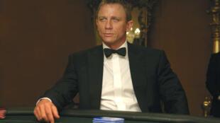Daniel Craig, le «nouveau» James Bond dans Casino Royale (2006).