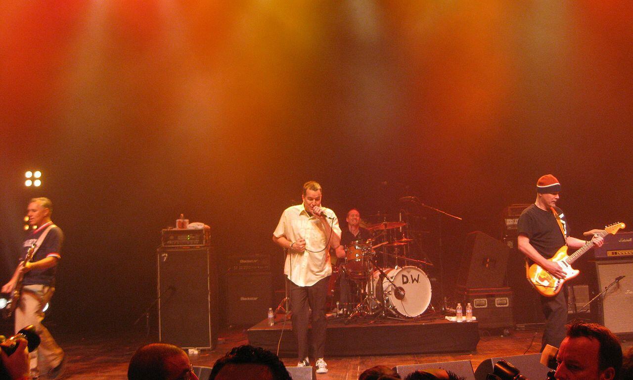The Vandals durante un concierto en Santa Mónica, California, en 2011.