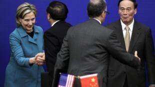 """Tại hội nghị  """"Đối thoại chiến lược kinh tế Mỹ -Trung """" tại Bắc Kinh hôm 25/5/2010"""