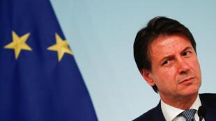 Thủ tướng Ý, Giuseppe Conte tại Roma. Ảnh ngày 24/09/2018.