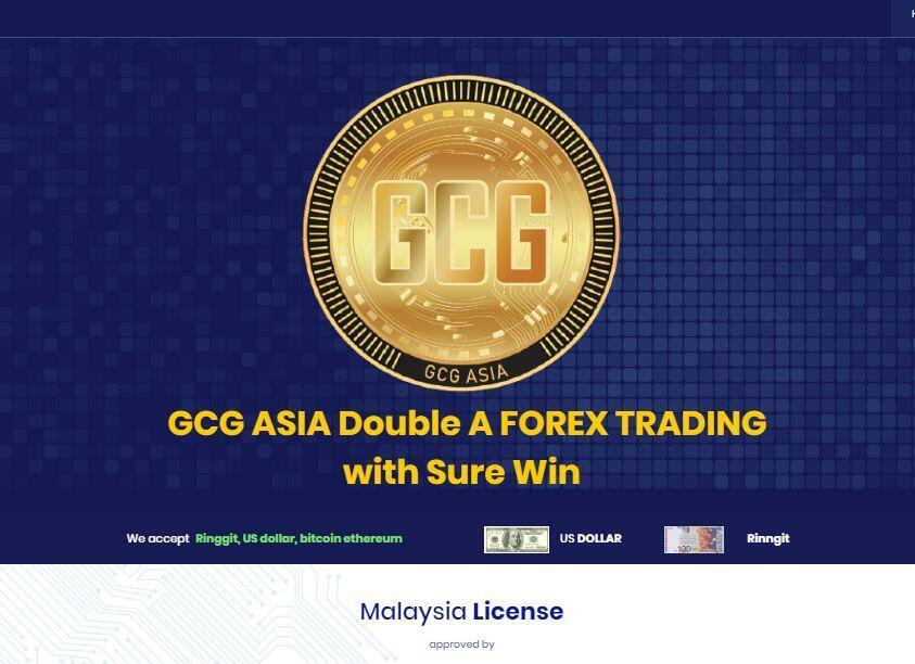 រូបភាពគេហទំព័ររបស់ក្រុមហ៊ុន GCG Asia Co., LTD