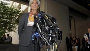 Christine Lagarde earlier this week